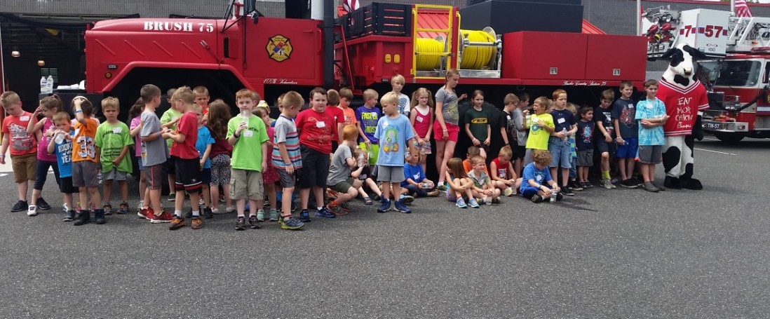 3rd Annual Junior Firefighter Camp a SUCCESS!