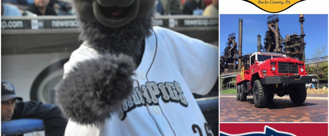 BREAKING NEWS:   Ironpigs Mascot, Ferrous to Appear at Open House!