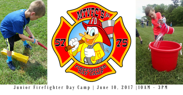 Junior Firefighter Day Camp – June 2017