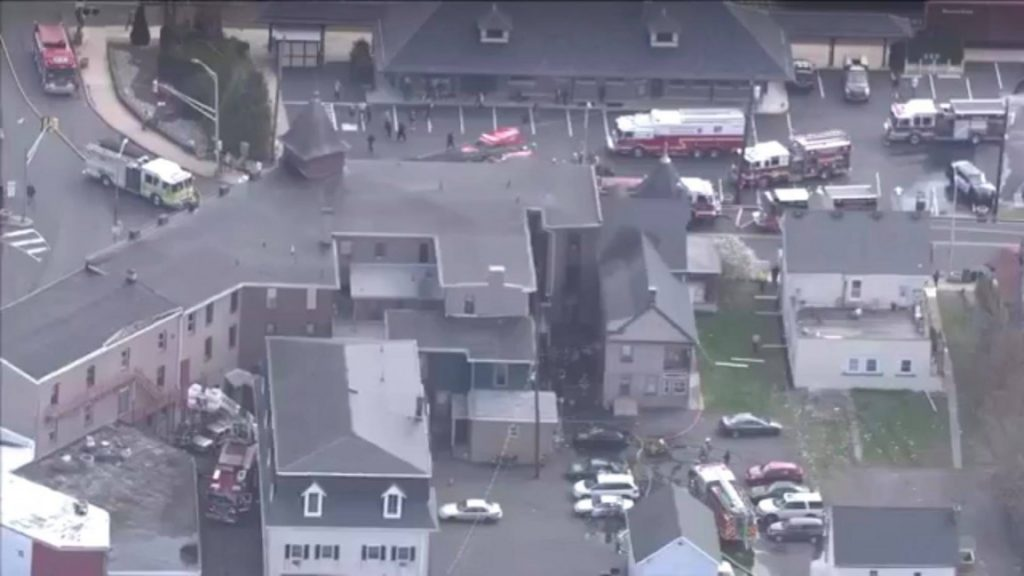 Tower 57 Runs Second Alarm Blaze in Quakertown Borough